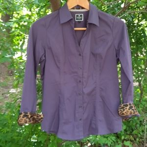 COPY - Express the Essential  shirt in plum with …